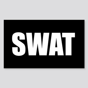SWAT Rectangle Sticker