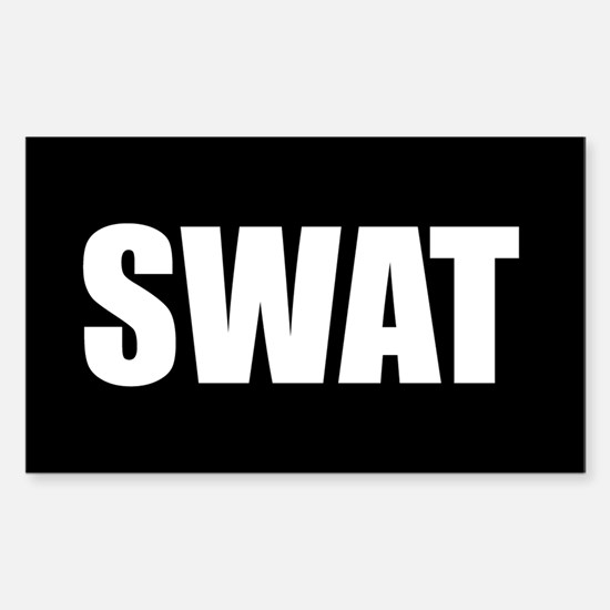 SWAT Rectangle Decal