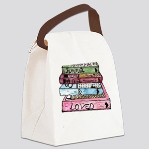 Rumpled, Dog-eared and Loved Canvas Lunch Bag