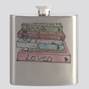 Rumpled, Dog-eared and Loved Flask