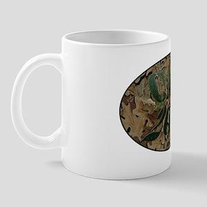 camo white Mug