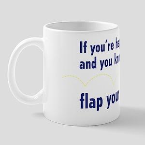 IfYoureHappy_Navy Mug