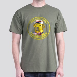 New Yellow Dog Democrat Dark T-Shirt 4