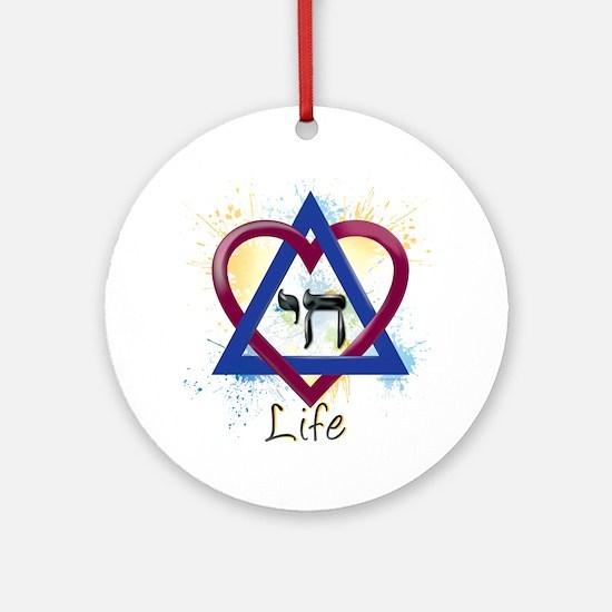 Chai_Life Round Ornament