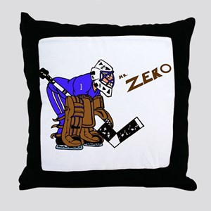 Mr. Zero Throw Pillow