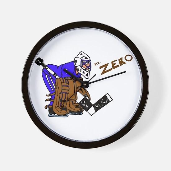 Mr. Zero Wall Clock