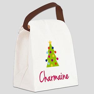 Christmas-tree-Charmaine Canvas Lunch Bag