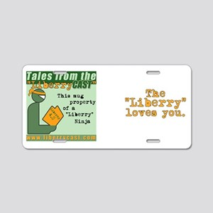 Tales from the LiberryCAST  Aluminum License Plate