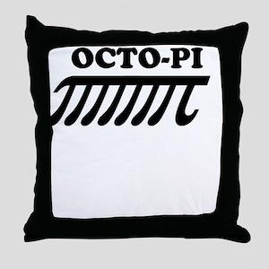 OCTO-PI Throw Pillow