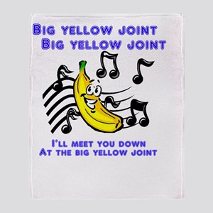 bigyellowjoint Throw Blanket