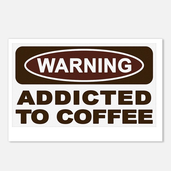 s4ucoffeeaddict Postcards (Package of 8)