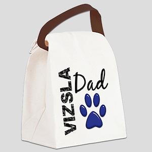 D Vizsla Dad 2 Canvas Lunch Bag
