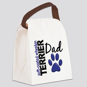 D Soft-Coated Wheaten Terrier Dad Canvas Lunch Bag