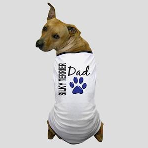 D Silky Terrier Dad 2 Dog T-Shirt