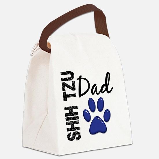 D Shih Tzu Dad 2 Canvas Lunch Bag