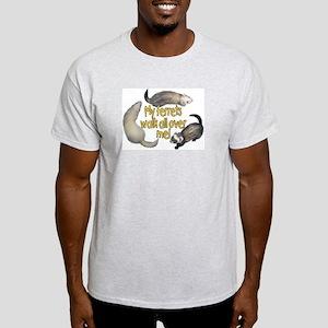 Walk Over Me Light T-Shirt
