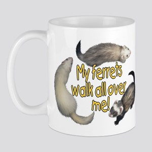 Walk Over Me Mug