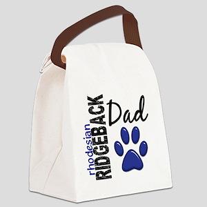 D Rhodesian Ridgeback Dad 2 Canvas Lunch Bag