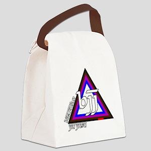 BJJ - Brazilian Jiu Jitsu - Color Canvas Lunch Bag
