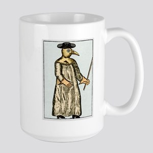 Plague doctor, France, Stainless Steel Travel Mugs