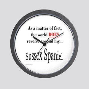Sussex World Wall Clock