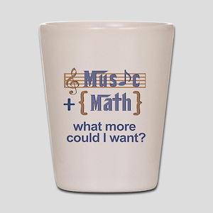 music-math3 Shot Glass