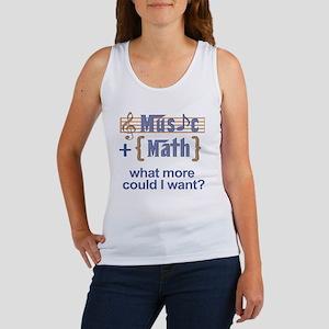 music-math3 Women's Tank Top