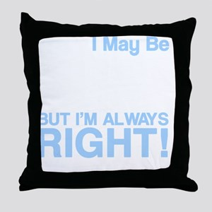 left handed copy Throw Pillow