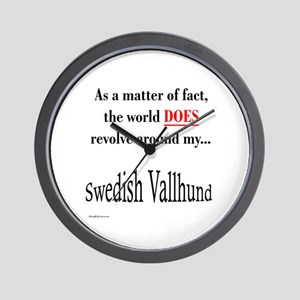 Vallhund World Wall Clock