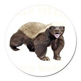Badger Round Car Magnets