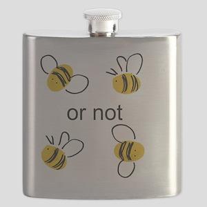 2 bee Flask