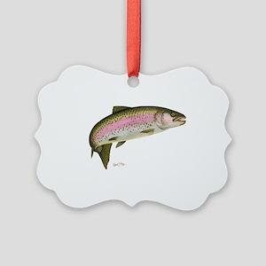 Rainbow Trout 1 Picture Ornament