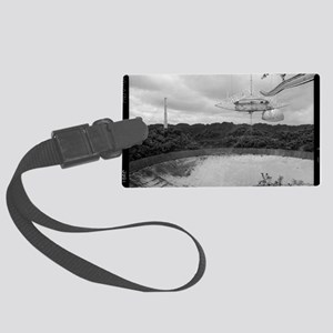 Arecibo 8 Poster Large Luggage Tag