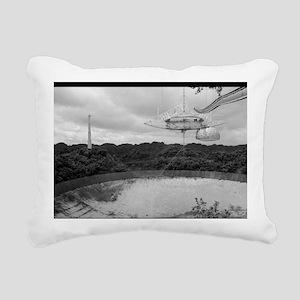 Arecibo 8 Poster Rectangular Canvas Pillow