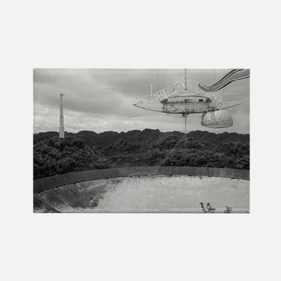 Arecibo 8 Poster Rectangle Magnet