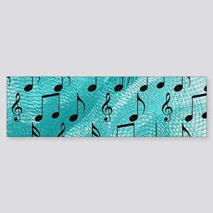 Music notes Bumper Sticker