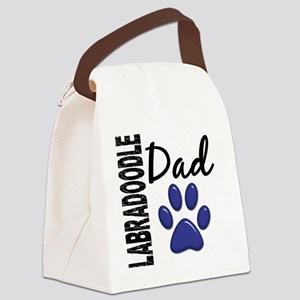 D Labradoodle Dad 2 Canvas Lunch Bag