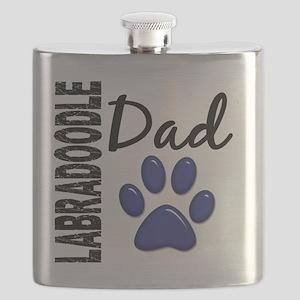 D Labradoodle Dad 2 Flask