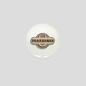 Trakehner Horse Mini Button