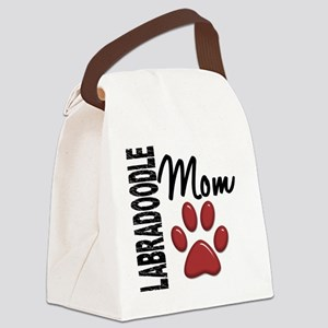 D Labradoodle Mom 2 Canvas Lunch Bag