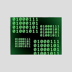 Binary code for GEEK 5'x7'Area Rug
