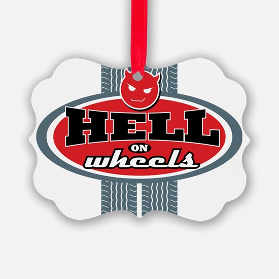 Hell_on_Wheels Ornament