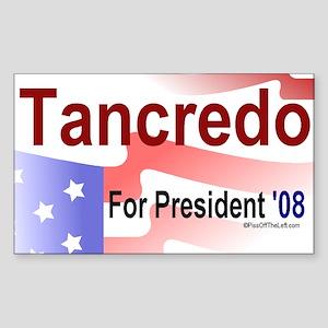Tancredo For President Rectangle Sticker