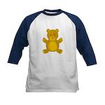Teddy Bear Kids Baseball Jersey