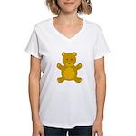 Teddy Bear Women's V-Neck T-Shirt