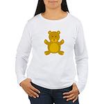 Teddy Bear Women's Long Sleeve T-Shirt