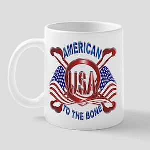American to the Bone Mug