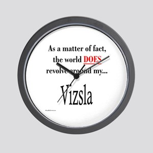 Vizsla World Wall Clock