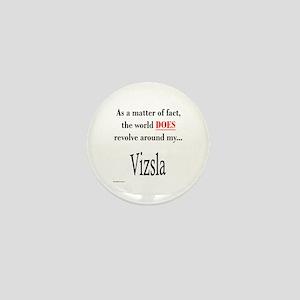 Vizsla World Mini Button