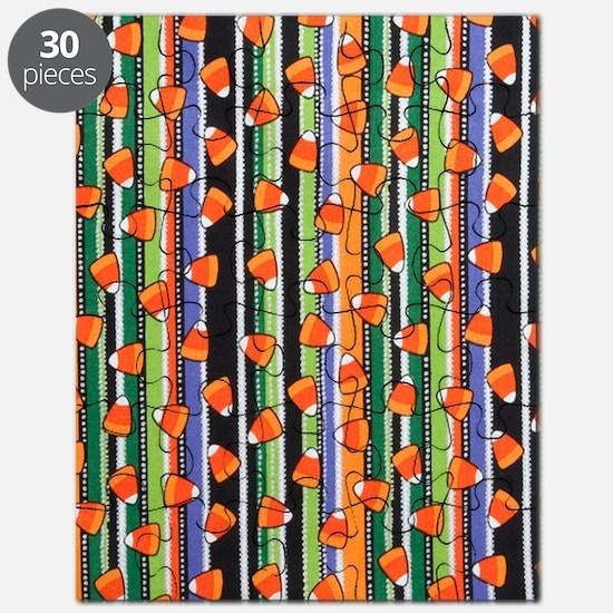 Candy Corn Stripe Puzzle